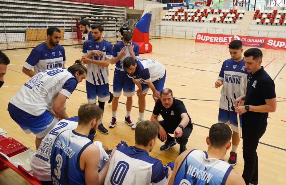 SCM U Craiova se impune la pas în partida cu Târgu Jiu