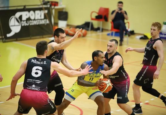 BC CSU Sibiu, victorie lejeră cu Athletic Constanța