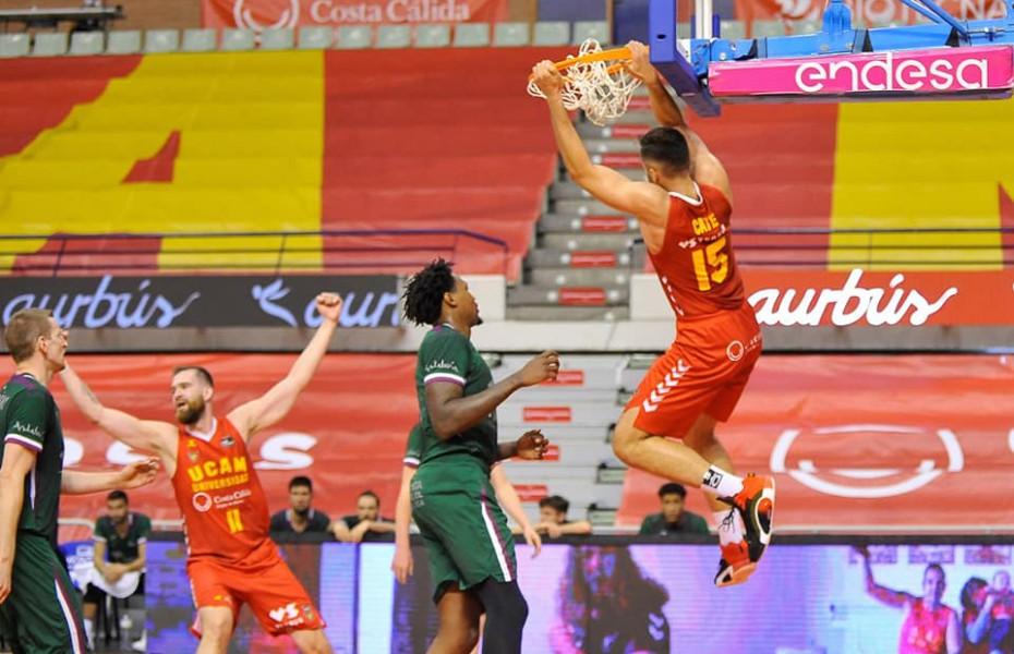 Emanuel Cățe, din nou cel mai eficient jucător al lui UCAM Murcia