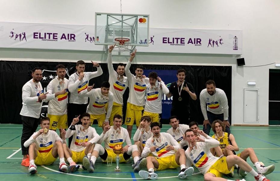 Știința București este campioana națională la categoria U20 Masculin