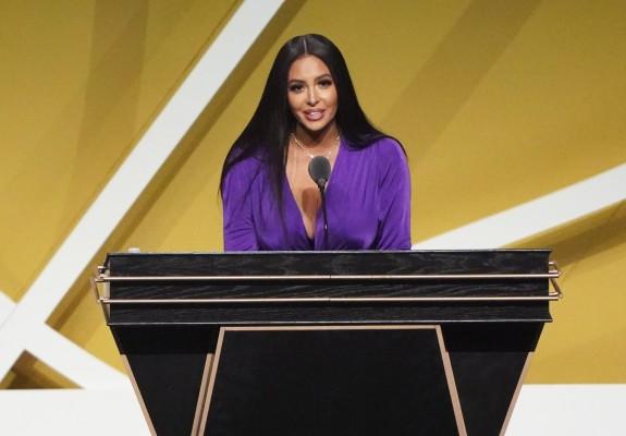 Vanessa Bryant, discurs special la includerea în Hall of Fame a soțului ei