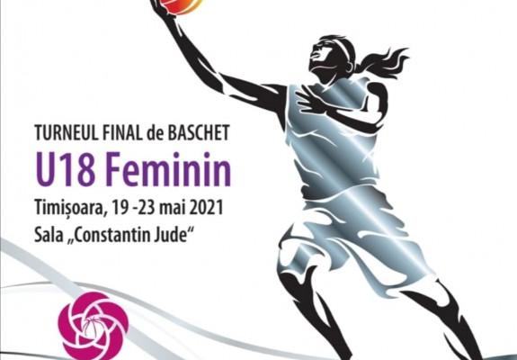 CN U18F - Grupele Turneului Final găzduit de Sala Constantin Jude