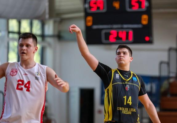 U18M - S-a încheiat prima zi din cadrul Turneului Final de la Oradea