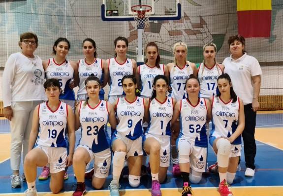 Olimpia Rapid București a cucerit titlul național la U18 feminin