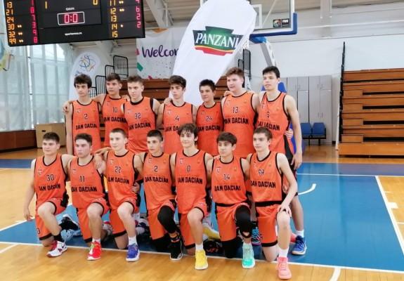 Dan Dacian București câștigă campionatul național U15 masculin