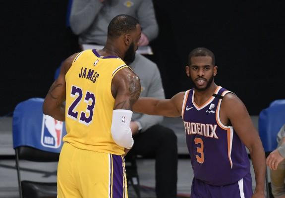 Phoenix Suns a câștigat prima partidă din seria cu Los Angeles Lakers