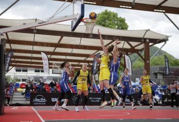 România a ocupat locul trei la turneul 3x3 de la Voiron