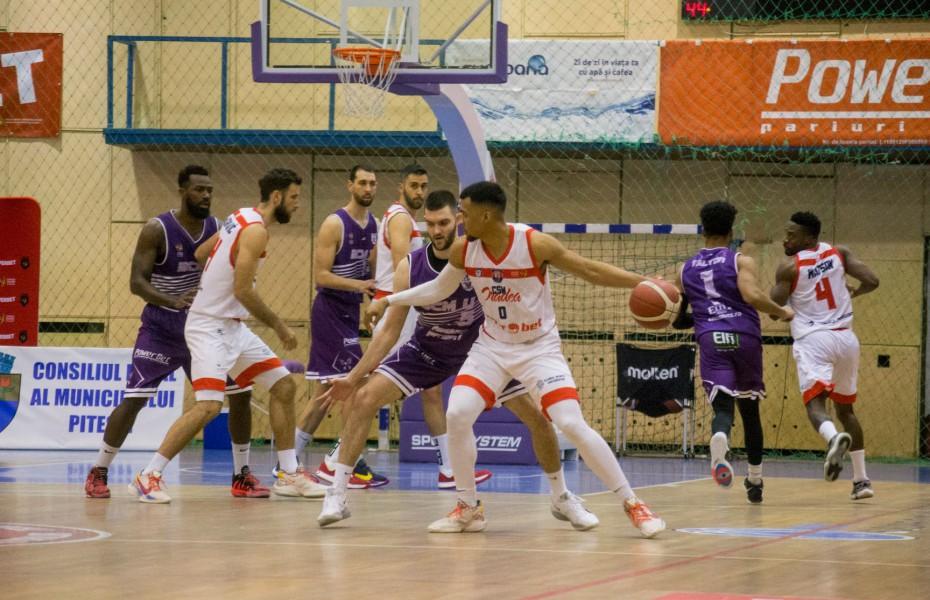 CSM Oradea se impune în primul meci al semifinalei cu BCM U Pitești