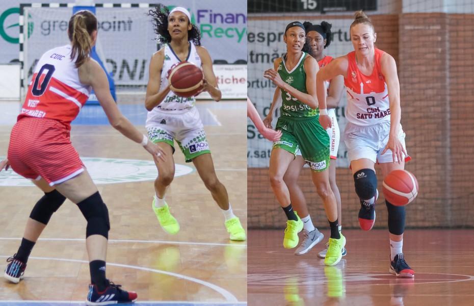 Rebekah Gardner și Claudia Cuic părăsesc campionatul României