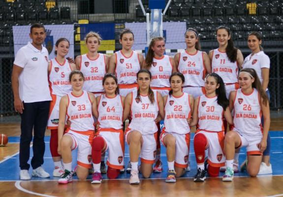 U16 Feminin – BC Dan Dacian București a cucerit titlul național
