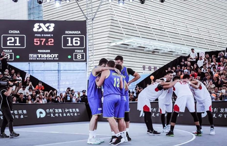 Naționala masculină a României se poate califica la Jocurile Olimpice în competiția de 3x3