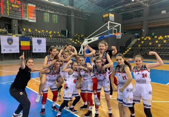 U13F - Gladius Târgu Mureș a câștigat titlul de campioană