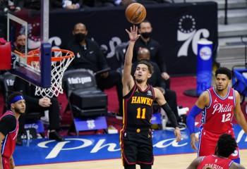 Atlanta Hawks îi surprinde pe Philadelphia 76ers