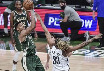 Milwaukee Bucks a reacționat în seria cu Brooklyn Nets