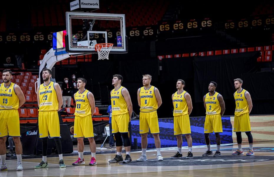România va juca prelicalificările FIBA Basketball World Cup 2023 în Letonia