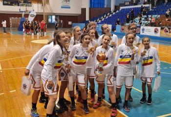 U14F - Crișul BC U Oradea este noua campioană a României