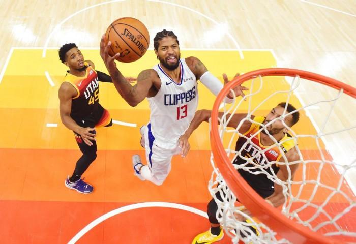 Los Angeles Clippers obține a treia victorie la rând în seria cu Utah Jazz. Video