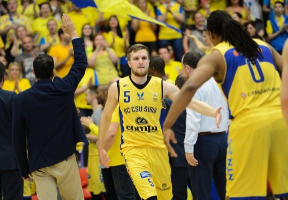 Justas Tamulis va juca din nou pentru BC CSU Sibiu