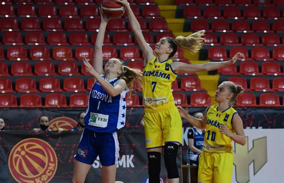 Eva Petrof, prestație excelentă în fața Kosovo-ului la FIBA U20 Women′s Challenger