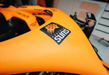 Phoenix Suns, susținută înaintea meciului 5 al finalei NBA de McLaren, echipa din F1