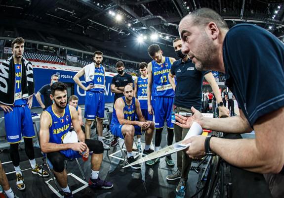 Lotul României pentru precalificările FIBA Basketball World Cup 2023