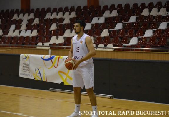 Luca Vasile și Alexandru Varga continuă la Rapid București