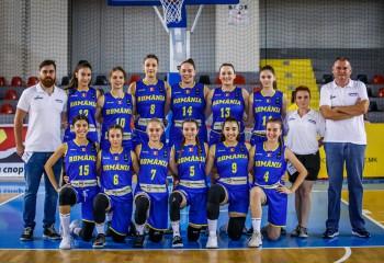 Naționala feminină a României a terminat pe locul 8 la competiția europeană U18 - Divizia B