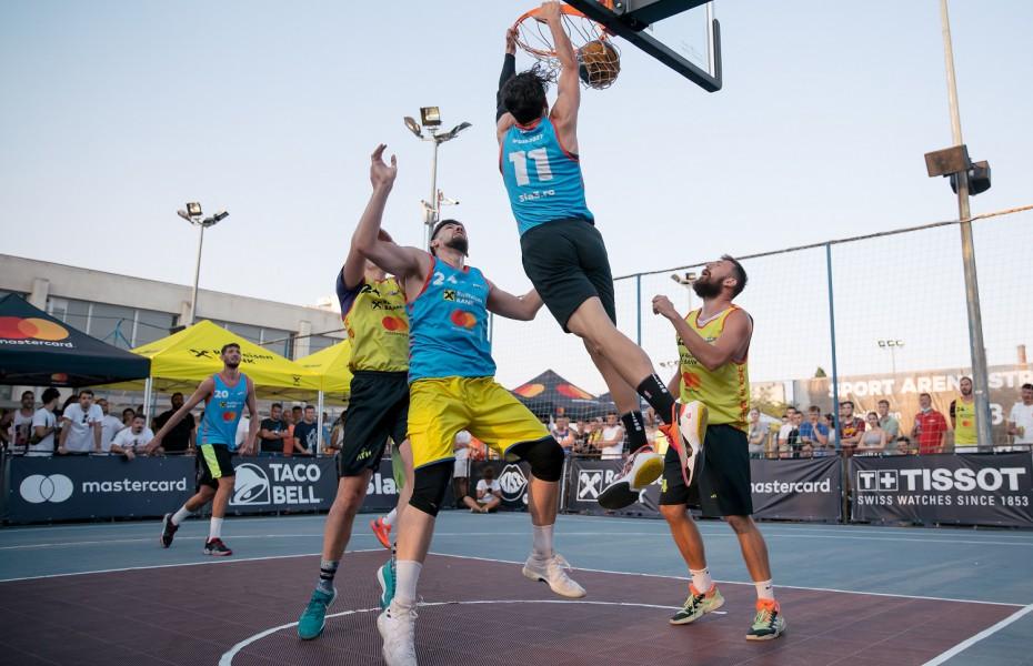 Air Casale și Basti Ionescu, spectacol la Raiffeisen Bank Sport Arena Streetball