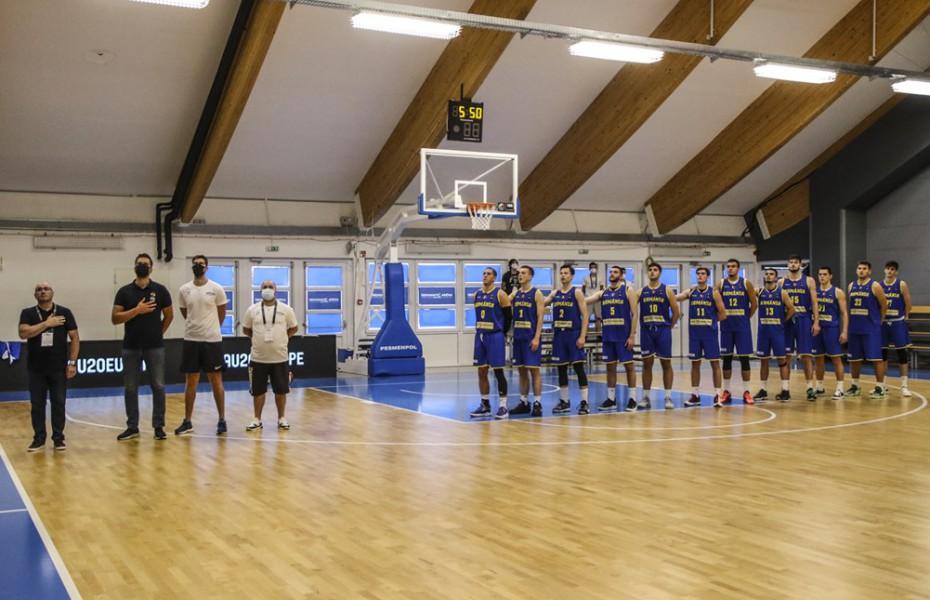 România pierde dramatic meciul cu Macedonia de Nord de la U20 European Challengers