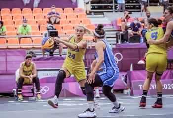 România cedează și partida cu SUA din cadrul competiției de 3x3 de la Tokyo