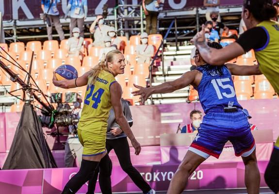 O victorie și o înfrângere pentru naționala feminină de 3x3 a României în a 3-a zi la Tokyo