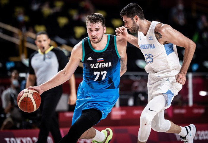 Slovenia învinge clar Argentina la Jocurile Olimpice