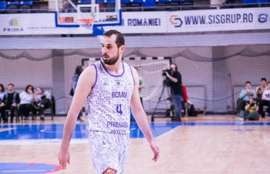 Mladen Jeremic, un nou sezon la BCM U Pitești