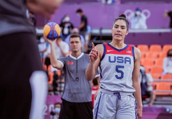 SUA este prima campioană olimpică din istoria baschetului 3x3