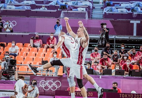 Letonia câștigă aurul olimpic la baschet 3x3 masculin