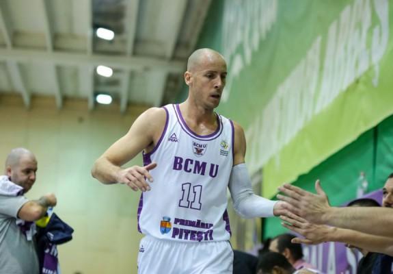 Goran Gajovic rămâne jucătorul lui BCM U Pitești