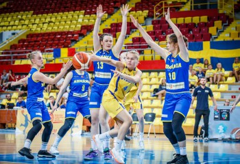 România pierde cu Suedia în sferturi și va juca pentru locurile 5-8 la europeanul U18 feminin, Divizia B