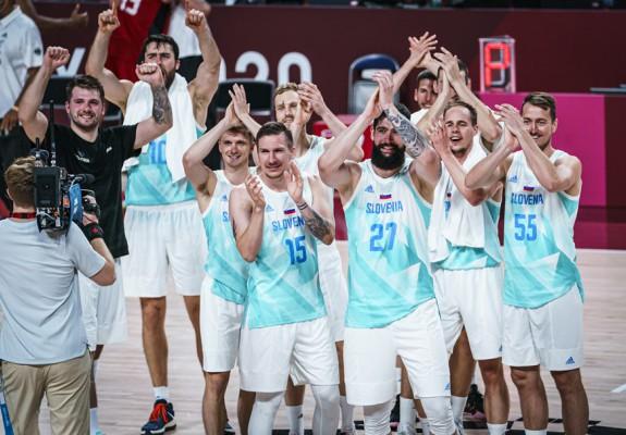 Slovenia merge în semifinale la JO, după o victorie clară în fața Germaniei