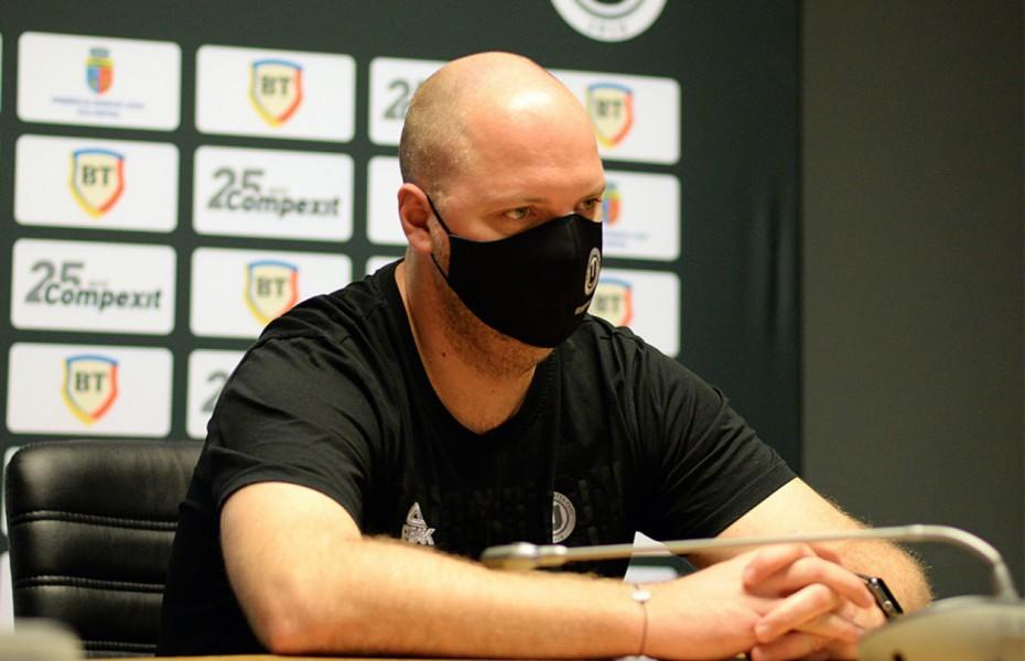 """Mihai Silvășan: """"Mai trebuie să aducem un singur jucător"""""""