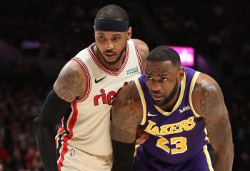 Carmelo Anthony va juca alături de LeBron James la Los Angeles Lakers