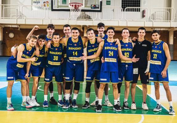 România a încheiat cu victorie participarea la FIBA U18 European Challenger