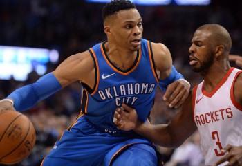 NBA: Oklahoma City Thunder l-a transferat pe Russell Westbrook la Houston Rockets