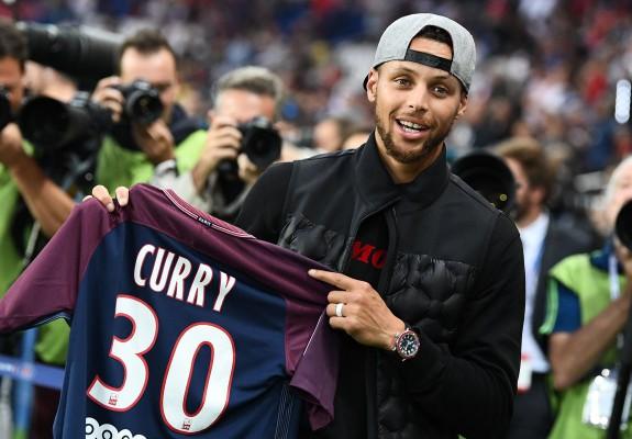 Steph Curry, încântat de numărul lui Lionel Messi de la PSG