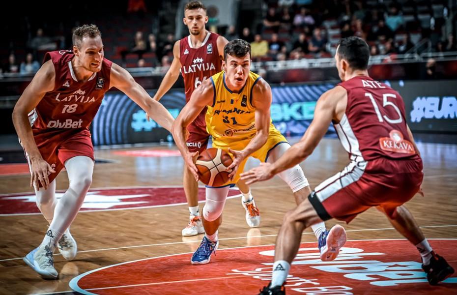 Prestație mai bună pentru România în revanșa cu Letonia