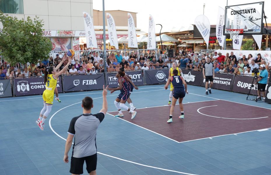 Patru echipe neînvinse după prima zi a turneului internațional de la Constanța. România părăsește competiția