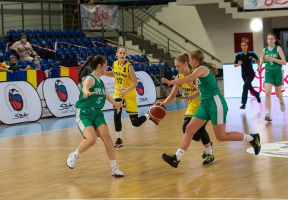 România, victorie la scor cu Irlanda în cadrul FIBA U16 Women's European Challenger