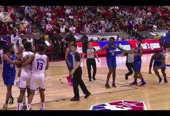 Bătaie cu pumni în NBA Summer League. Video