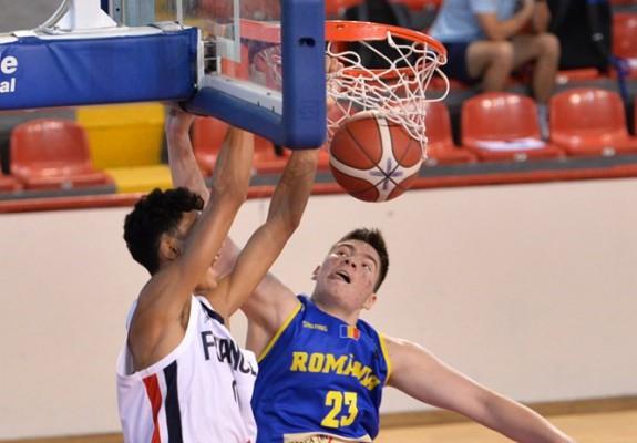 România, înfrângere la peste 80 de puncte cu Franța