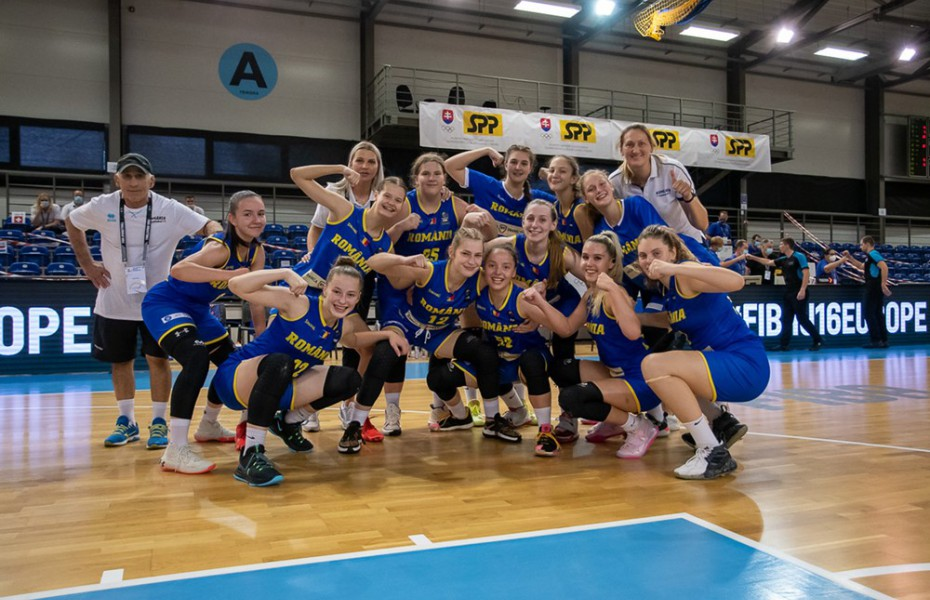 România încheie cu victorie FIBA U16 Women's European Challenger