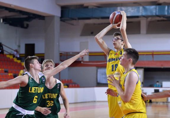 România pierde și în fața Lituaniei la FIBA U16 Europe Challenger